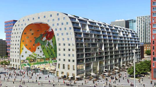 In Rotterdam, incep lucrarile la cladirea pietei in forma unui tunel