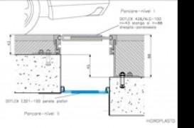 Proiect Hidroplasto - Obiectiv:  Parcare subterana complex  comercial Bucuresti