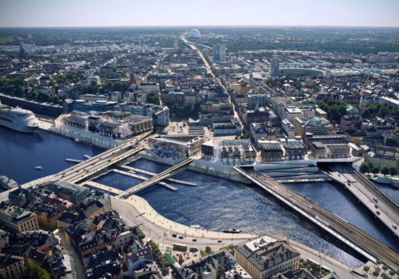 Schimbare de imagine a orasului Stockholm propusa de Foster