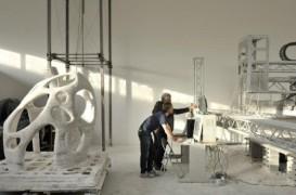 Printer-ul 3D poate crea o cladire intreaga dintr-un bloc de piatra