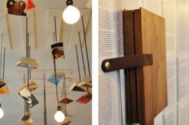 Cartile, obiecte de design intr-o librarie
