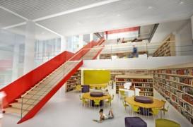 Proiect pentru o noua biblioteca publica Santa Catarina in Brazilia