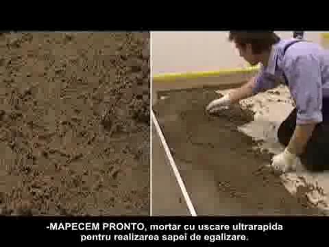 MAPEI - Montaj parchet triplustratificat, sistem ultrarapid