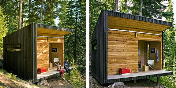 Signal Shed: o cabana de padure de doar 10.000 de dolari