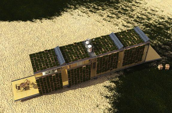 EcoBitat - concept modular prefabricat