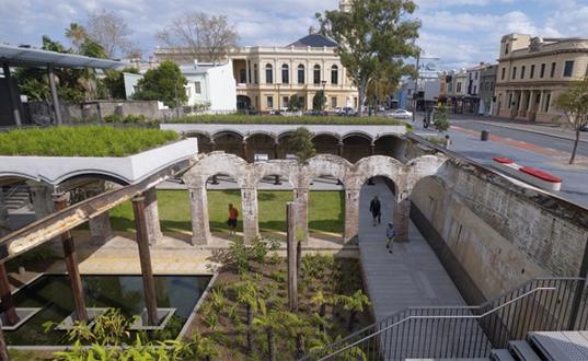 Un nou parc urban in Sydney