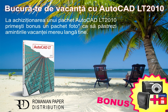 AutoCAD LT 2011 intr-un nou pachet promotional prin intermediul RPD