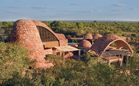 Domurile de pamant de la Centrul de Interpretare Mapungubwe