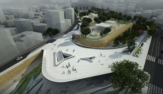 O noua piata urbana cu rol in reunificarea orasului Nicosia