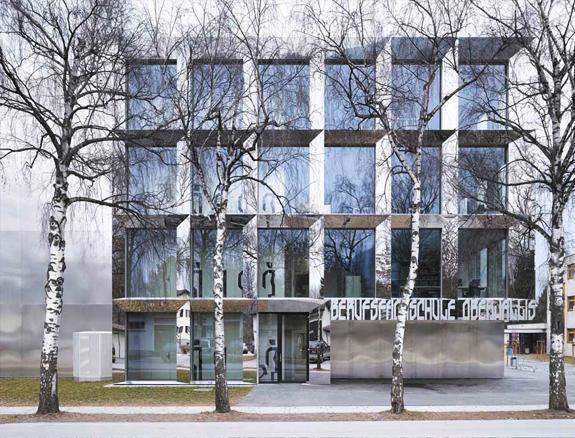 Sediul noului Colegiu pentru Educatie Profesionala  din Visp, Elvetia