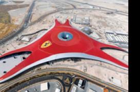 Ferrari World in Abu Dhabi ancore si placi de fixare din Ultramid pentru cel mai mare