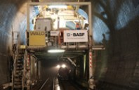 Produsele chimice de la BASF, utilizate pentru constructia celui mai mare tunel feroviar din lume
