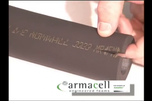 Taierea izolatiei Armaflex ARMACELL