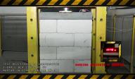 Test rezistenta la compresiune a zidariei BCA standard cu mortar in strat subtire DD-M10