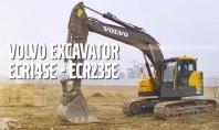 Excavatoare pe senile Volvo ECR145E - ECR235E