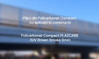 Placi din policarbonat compact Plazcarb cu aplicatii in constructii - Pasajul Cumpenei Constanta