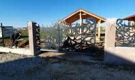 Porti si gard din tabla decupata prelucrata in CNC