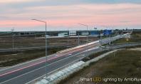 Iluminat cu LED - Timelapse Autostrada A3