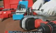 Program Tivoly de la Unior Tepid - Masina de ascutit burghie Drill Doctor