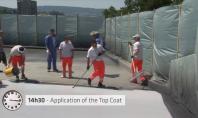 Sistemul de aplicare Sika One Shot intr-o parcare din Zurich Elvetia