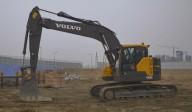 Excavator pe senile Volvo ECR235E