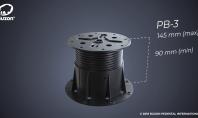 Pilon reglabil pentru pardoseli flotante de exterior PB-3 (90-145mm)