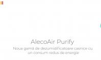 Dezumidificatoare si purificatoare AlecoAir gama Purify cu filtru HEPA
