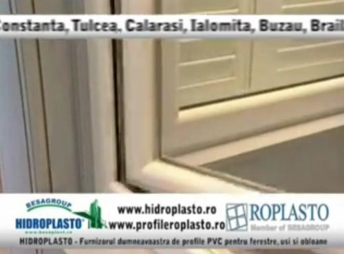 Hidroplasto - unic distribuitor al profilelor PVC marca Roplasto HIDROPLASTO