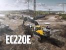 Excavator pe senile Volvo EC220E