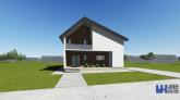 Proiect casa REYNA  P  M  3 camere  124 mp