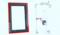 Roto AL Designo - Montaj feronerie ascunsa pentru ferestre si usi de balcon din aluminiu