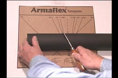 Folosirea sabloanelor Armaflex ARMACELL