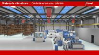 Sistem de ventilatie pentru hale de productie si depozite