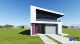 Proiect casa SELENA, P+M, 4 camere, 200 mp