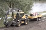 Excavatoare pe roti Volvo EW160E si EW180E