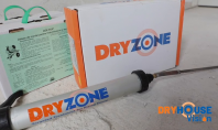 Cum se aplica Dryzone - tratamentul rapid, curat, eficient contra umezelii ascensionale