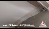 Larex Global Floor - Racord perete - pardoseala Microciment, suprafete verticale si orizontale