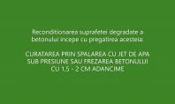 Prezentare BETON ECOSERV - reconditionarea suprafetei degradate a betonului