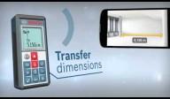 Telemetru cu laser (100 m) cu transfer de date catre telefoane, tablete, PC BOSCH Professional GLM 100 C