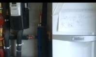 Centrala pe gaz in condesatie, cu aport solar Rotex