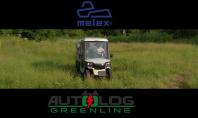 Autoutilitara electrica multifunctionala, cu sistem de udare,  MELEX - model 391.1.FL-H