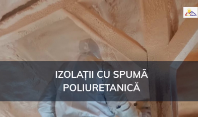 Izolatie cu spuma poliuretanica - Izosun Romania