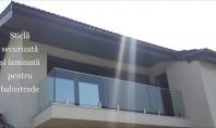Utilizarea sticlei in amenajările interioare si exterioare