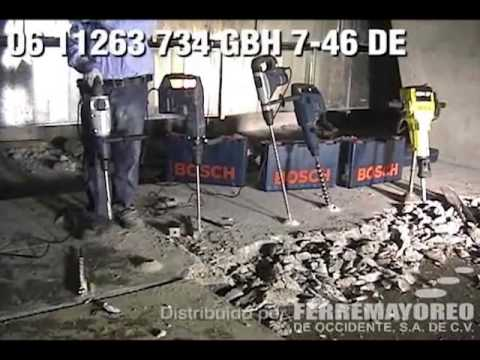 Professional Ciocan rotopercutor SDS-max 1350 W 9,3 J BOSCH Professional GBH 7-46 DE  BOSCH