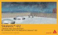 Mebrana lichida de impermeabilizare Sikalastic 612 pentru acoperisuri