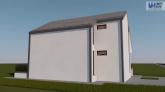 Proiect casa ANAIS, P+M, 3 camere, 100 mp