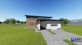 Proiect casa HERMES  P  E  6 camere  180 mp