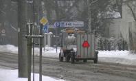 Autoutilitare electrice ecologice  - modelul Melex N pe timp de iarna MELEX