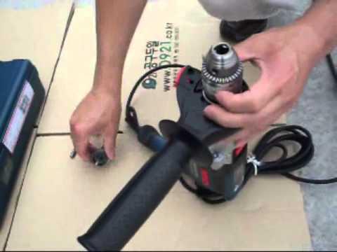 Professional Masina de gaurit cu percutie 1150 W BOSCH Professional GSB 21-2 RE / M.R BOSCH