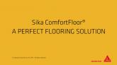 Pardoseli confortabile Sika®-ComfortFloor®